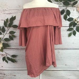 Rachel Pally Size M Kylian Adobe Flowy Dress